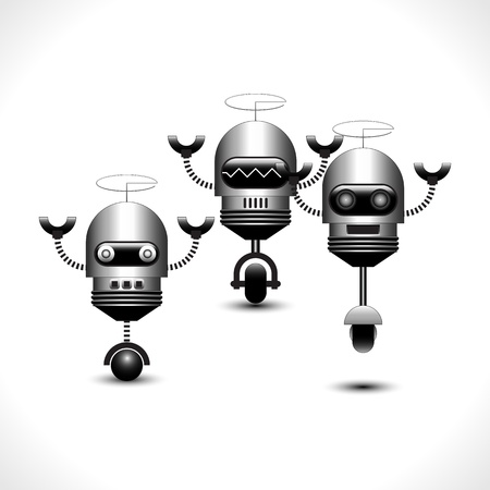 Robots Collection  Illustration