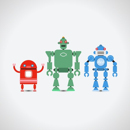 Robot Collection  Vector