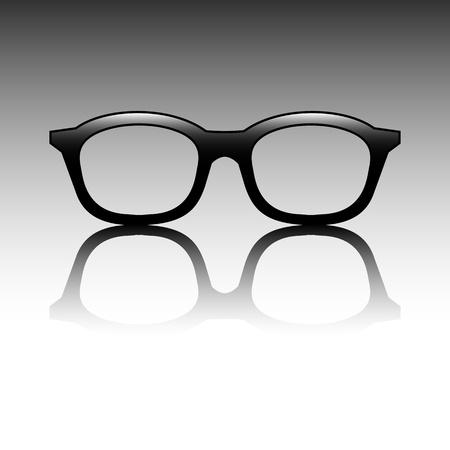 Glasses vector Illustration