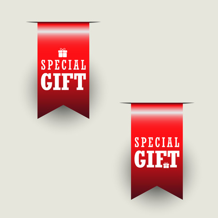 sticker label: Special Gift Stickers