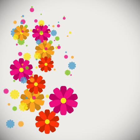 Spring flower background Illustration