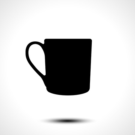 Cup icon. Vector illustration
