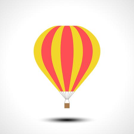 Hot air balloon icon vector illustration Illustration