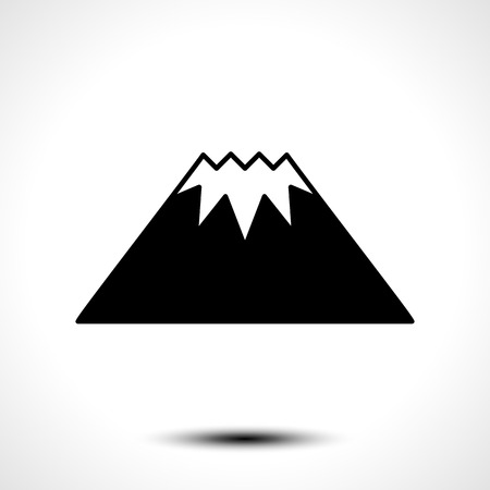 mountaintop: Mountain Logo Template. Vector concept illustration for design Illustration