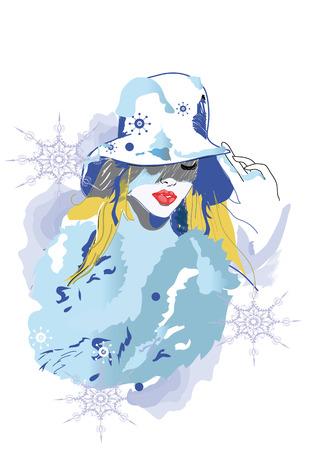 fashion girl: winter girl
