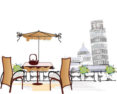 pisa: Cafe in Pisa