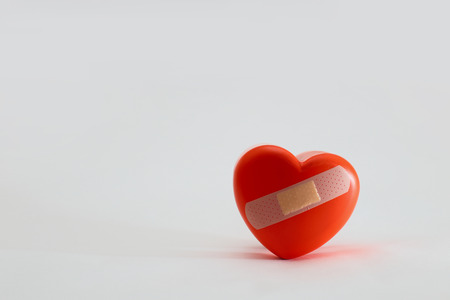 wounded heart photo