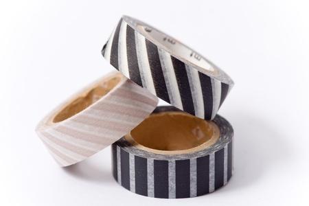 masking: Washi tape roll   masking tape  Stock Photo