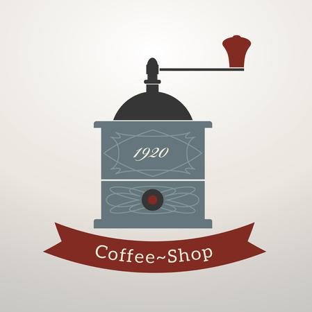 grinder: Vintage style  coffee grinder
