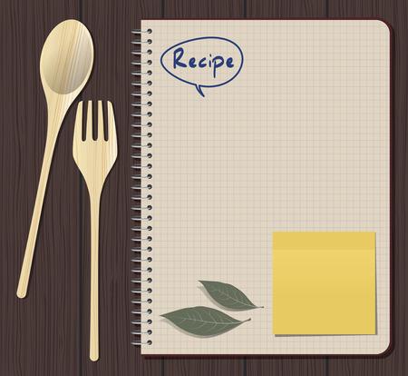 cookbook: Recipes Cookbook. Cooking Notebook
