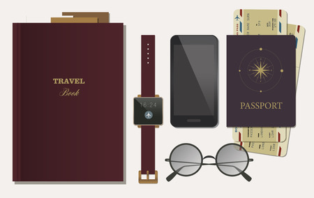 lay: Flat Lay Travel