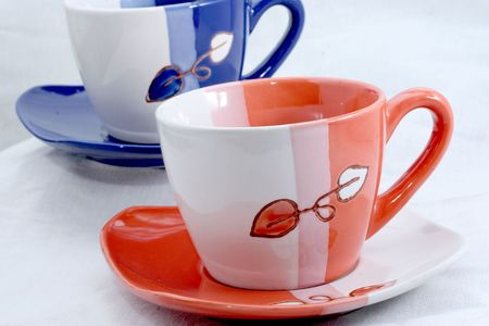 commercial photo of coffee cups