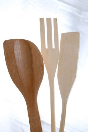 three kitchen utensil