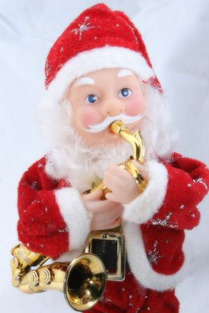 toy santa claus alike