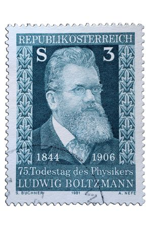 closeup image of postal stamp from austria