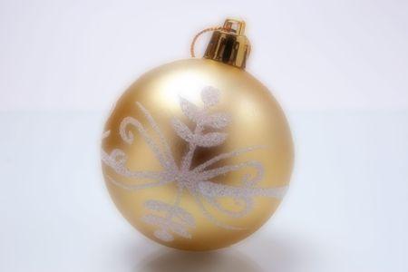 closeup image of one christmas tree ball Stock Photo