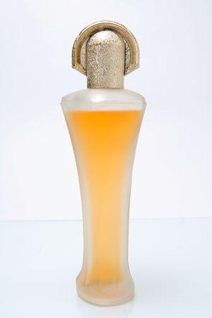 closeup imago of one nice form perfume bottle Stock Photo