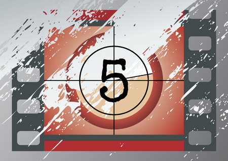 flicker: Scratched Film Countdown at No 5