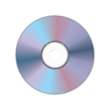 realistic compact disc Vector