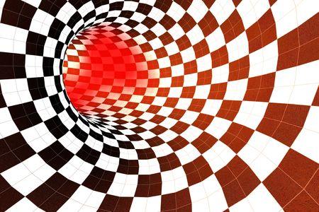 적합: abstract tunnel - suitable for background