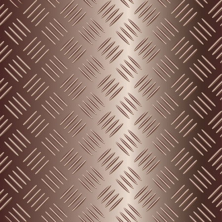 brownish metal plate for background Stock Vector - 2704270