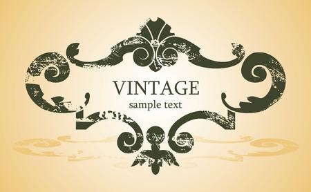 vintage background Stock Vector - 2758732