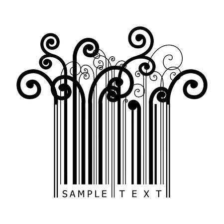 fund world: floral barcode
