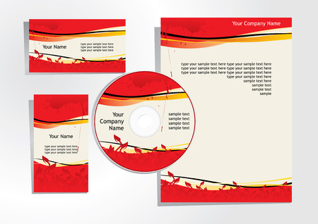 corporate identity 2 Stock Vector - 3482095