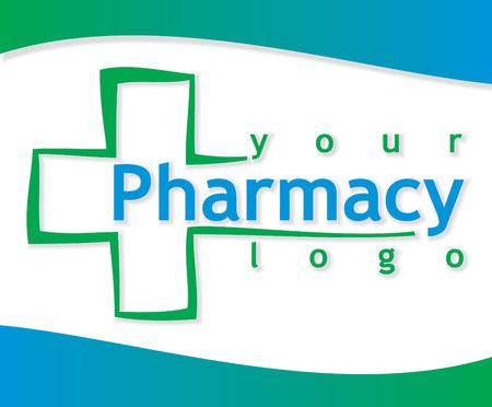 pharmacy symbol: medicine vector icon Illustration