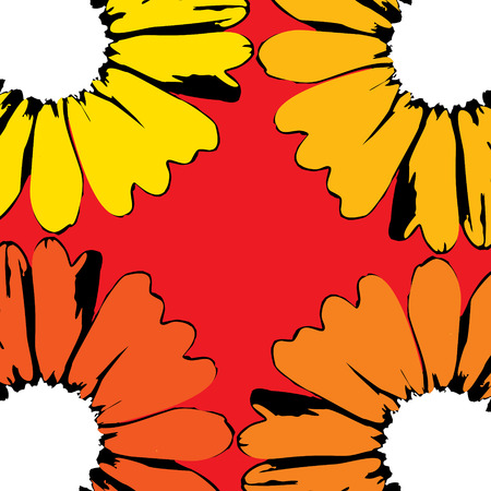 vector sunflowers Vector