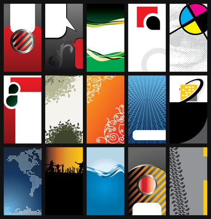 modelli di business card  Archivio Fotografico - 6732297