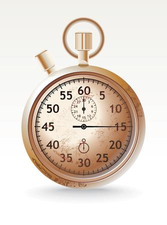 grunge stopwatch
