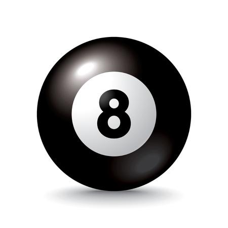 billiards hall: pool ball