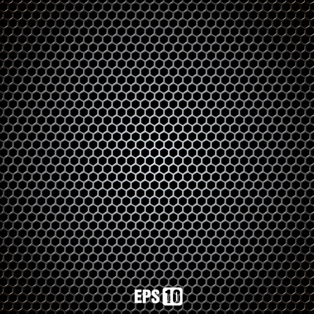 metal grid Stock Vector - 10894162