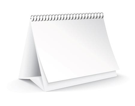 blank desk calendar Stock Vector - 11126328