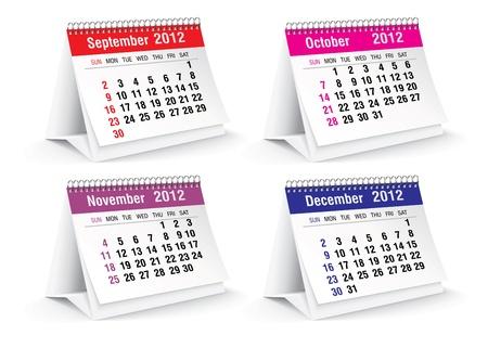 calendario da tavolo: 2012 calendario da tavolo