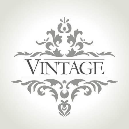 vector vintage: vector vintage frame