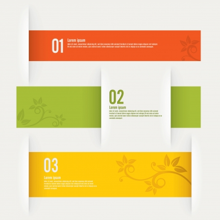 modern design template - vector illustration Stock Vector - 18170354
