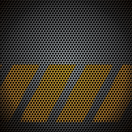 metal grid - vector illustration Stock Vector - 18170359