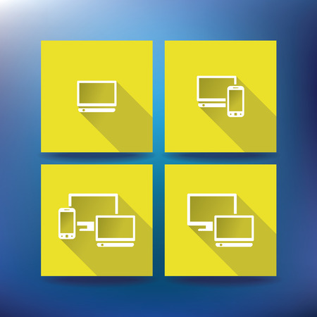 service provider: Internet service provider icons, eps 10 - vector illustration