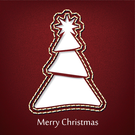 denim jeans: Dise�o de postales de Navidad con pantalones de mezclilla de fondo - ilustraci�n vectorial Vectores