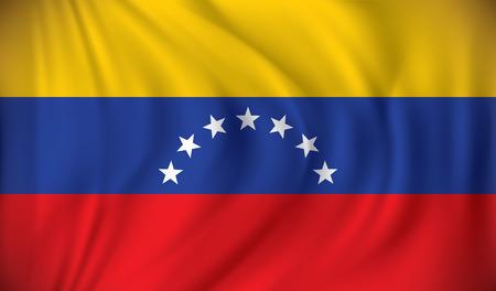 venezuela: Flag of Venezuela - vector illustration