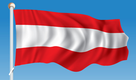 Flag of Austria - illustration