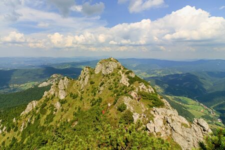 Panoramic view, National park Mala Fatra, Slovakia