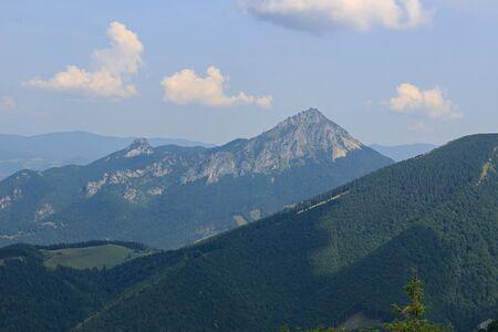 Maly Rozsutec and Velky Rozsutec,National park Mala Fatra, Slovakia