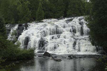 Bond Falls in the Upper Peninsula of Michigan. Stok Fotoğraf