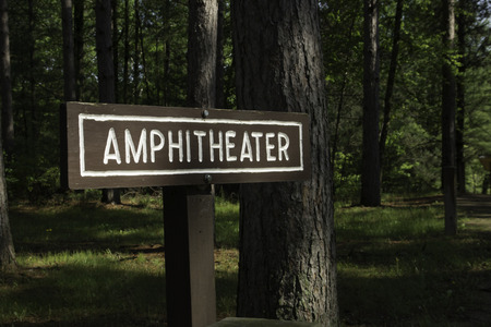 Sign for an Outdoor Amphitheater