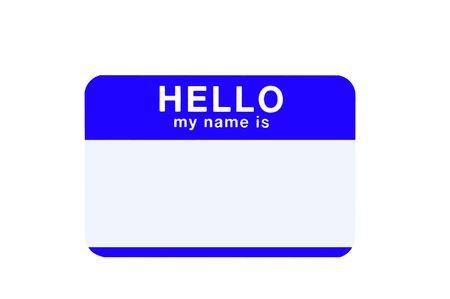 Name Tag Stock Photo - 537725