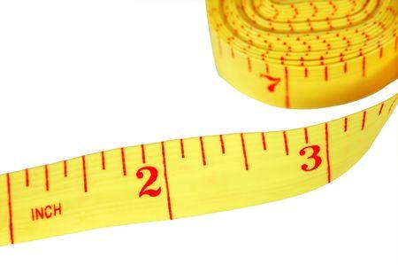 Sewing tape measure. Imagens