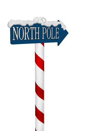 elves: North Pole Sign